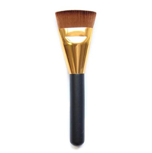 Cosmetic Brushes,Vovotrade 1pcs Pro Cosmetic Flat Contour Brush Face Blend Makeup Brush - Face Almond Shaped
