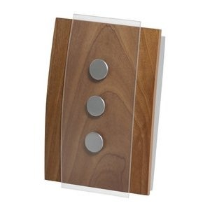 honeywell rcw3503n1002 n decor wired door chime no push button rh amazon com