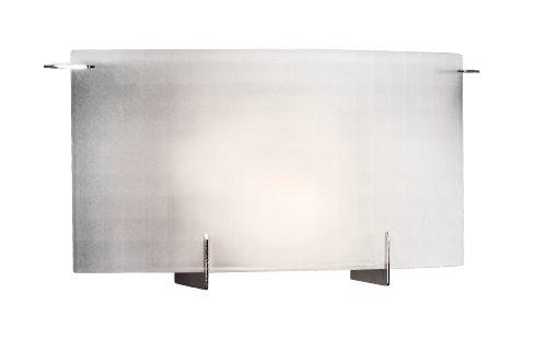 Eurofase 7223-35 Prisma 2 Wall Sconce, Chrome/Frost