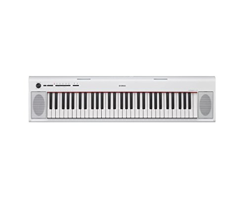 Yamaha NP12 NP-12 White Portable Digital 61-Key Piano with F