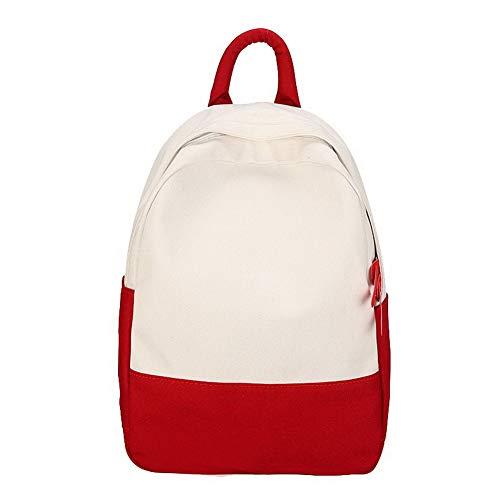 fourre Tout TSFBG205949 Rouge à Rouge Sacs Mode Toile Femme bandoulière AalarDom Sacs qIztw7xB