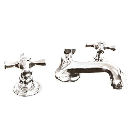 Harrington Brass Faucets 32 100 58 Harrington Brass Widespread Lav Faucet Polished Chrome (Widespread Lav Faucet Polished Brass)