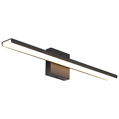 JUSHENG Modern Black Bathroom Vanity Light Fixtures 24