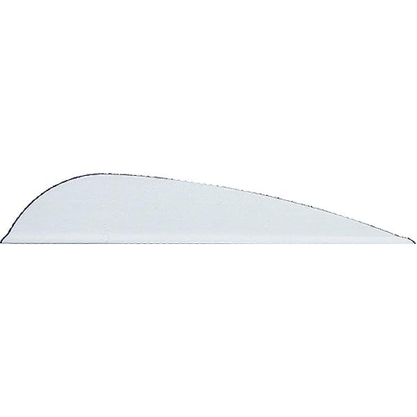 4in AAE Plastifletch Vanes White for sale online 100 Pk