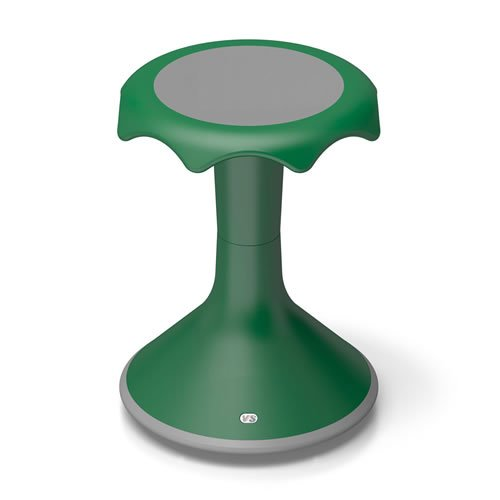 Hokki Stool - 18'' Green by Hokki