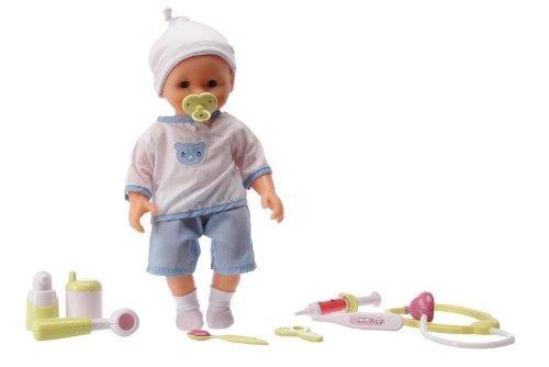Smoby - 160133 - Poupées et mini poupées - Poupon à fonctions - Bébé Docteur