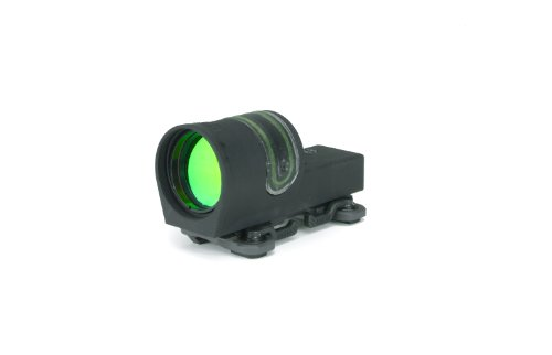 Dual Throw Lever - Trijicon Reflex Rx30 with A.R.M.S. 15 Throw Lever Flattop Mount
