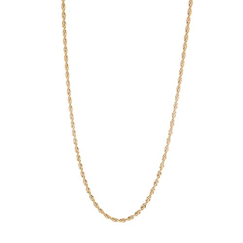 Stainless Steel Rope Chain Necklace Unisex (3MM 30