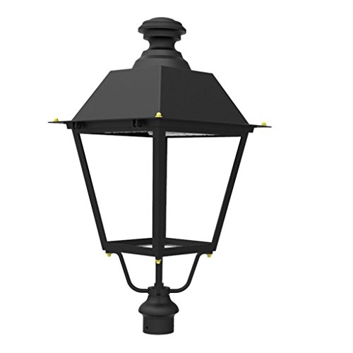 90 Lamp Side Park Car (Docheer 60W Outdoor LED Top Post Light ( 200W Eq.) Outdoor High Post Lantern LED Street Light,5000K Daylight White,6600 Lumens, great for Parks, Streets, Parking Lots, Pathways)
