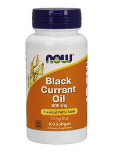 Now Foods - Black Currant Oil 500 mg 100 Sgels