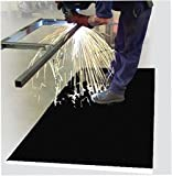 Spark Resistant Antifatigue Work Mat - Commercial Industrial Traction Matting - ''AirLift SparkShield'' - 2' x 3' - 1/2'' Thick