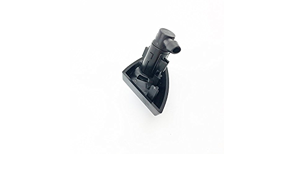 Right Passenger Side Chrome Headlight Washer Nozzle Cover NewYall Pack of 2 Left Driver