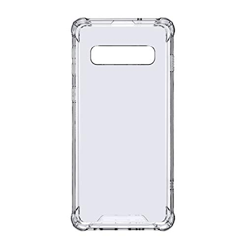 SMARTDEVIL Case for Samsung Galaxy S10 Plus PC Case Transparent Shockproof Scratch Resistant Hard Protective Case for 6.4 Inch Mobile Phone Back Cover (Clear)