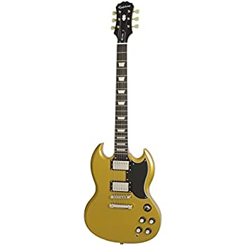 Epiphone EGGPMGNH3 1961 G-400 Pro in Metallic Gold, Jumbo, Metallic Gold