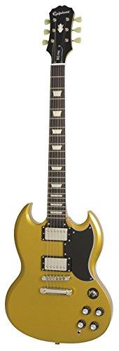 Epiphone 1961 G-400 Pro Electric Guitar, Metallic Gold (Epiphone Sg Pickups)