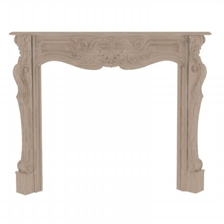 The Deauville Fireplace Mantel Surround Finish: Unfinished, Shelf Length: 67'' by Pearl Mantels