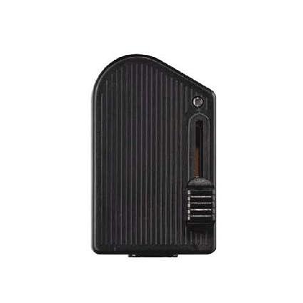 Regulador de luz para pie color negro con cursor modelo RT 81 -RL 1104 con rango de potencia 60 a 300W