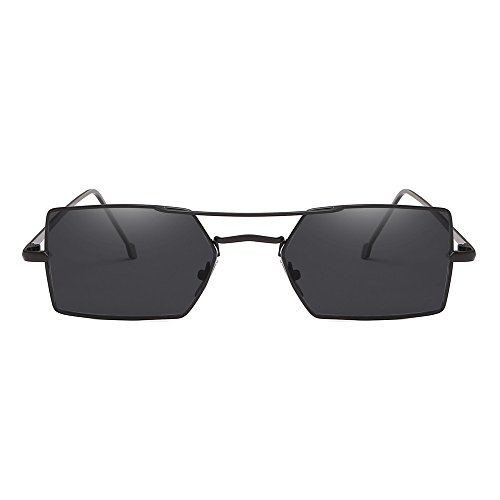 TIANLIANG04 Cuadrado Sol De De Gafas Pequeño Sol Unisex Uv400 Para Gafas Mujer r6TArU