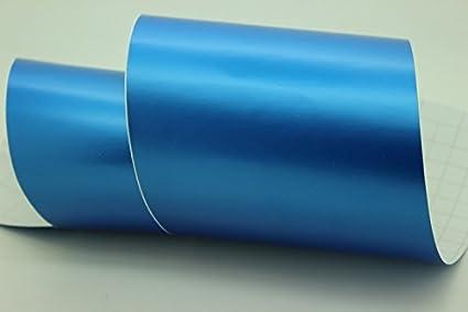 0,5 x 1,52 m azul metalizado DiversityWrap acabado satinado mate Vinilo decorativo para el coche