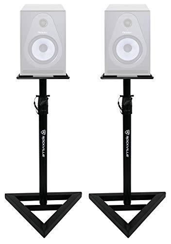 Rockville Adjustable Studio Monitor Speaker Stands For Sams