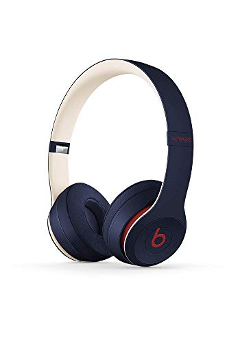 Beats Solo3 Wireless On-Ear Headphones - Beats Club Collection - Club Navy (Dre Headset Beats By)