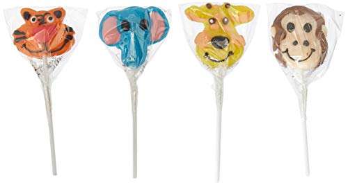 (Rhode Island Novelty ZYZOOLO 227726 Zoo Animal Lollipops)