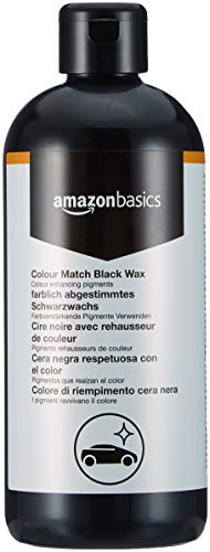 Amazon Basics Colour Match Black Wax 500ml Flip Cap Bottle