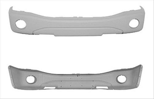 OE Replacement Dodge Durango Front Bumper Cover (Partslink Number CH1000418)