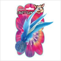 Crazy Claws Fish Soft Cat Toy with Ribbons, My Pet Supplies