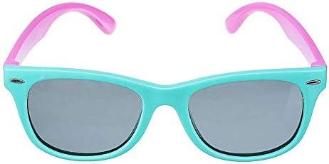 C-FUNN Unisex Niños Chic Polarizado Niños Bebé Gafas De Sol Suaves Uv400 Gafas Populares-Royal Blue
