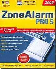 (Zone Alarm Pro 5 #1)