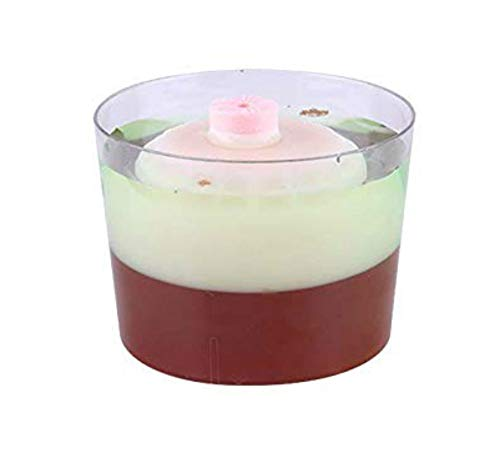 Zappy 7 oz Mini Dessert Cups 24 Ct Mini Bowls Clear Party Bowls Appetizer Bowls Trifle Bowl Dessert Tumbler Cups Party Cup 7oz Plastic Cups Small Bowl Disposable Dessert Bowls Candy Dishes Drinking -