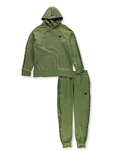 Blac Label Big Boys' 2-Piece Sweatsuit Pants Set - Green, 12