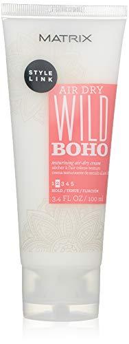 MATRIX Style Link Wild Boho Texturizing Air-Dry Cream | Texturizes & Enhances Natural Shape of Hair | For Fine Hair | 3.4 Fl. Oz.