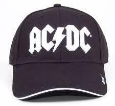 AC/DC Pantalla White Logo Gorro Gorra Gorro Gorra de béisbol ...