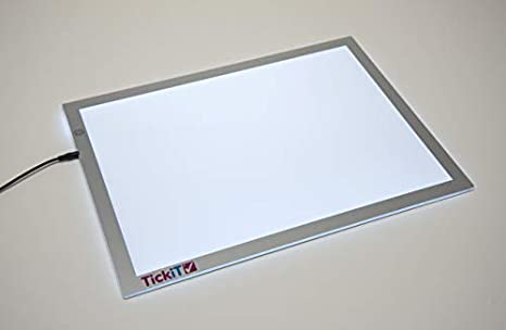 Amazon.com: TickiT Panel de luz LED ultra brillante – brillo ...