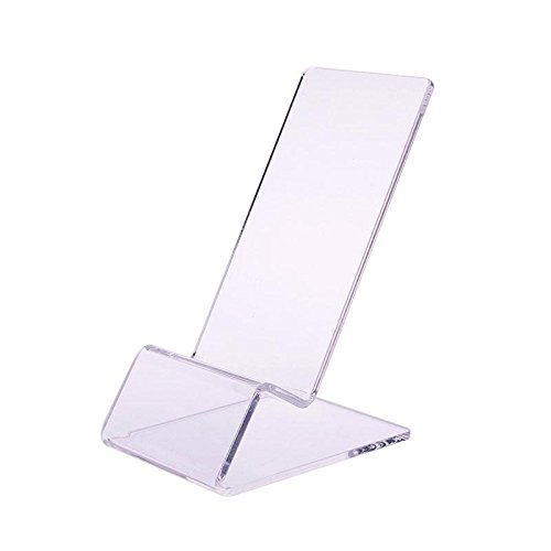 YOUNGFLY Clear Acrylic Mount Holder Display Stand For Cell Phone Funky Long Service Life Durable