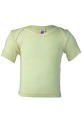 lk baby beige T-shirt Top girl boy organic (24-36 mo) ()