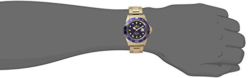 """Invicta Men's 9312SYB """"Pro Diver"""" Stainless Steel Watch with Gold-Tone Link Bracelet"""