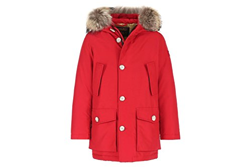 Woolrich Rosso Parka Wkcps1992 In Cotone Misto qwq7gpaxr
