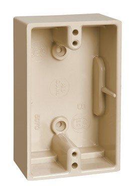 Thomas & Betts 5070-IV Carlon 5070 Ivory Utility Box, 1 Gang, 14 Cu-In X 4-1/2 In L X 2-3/4 In W X 1-5/8 In -