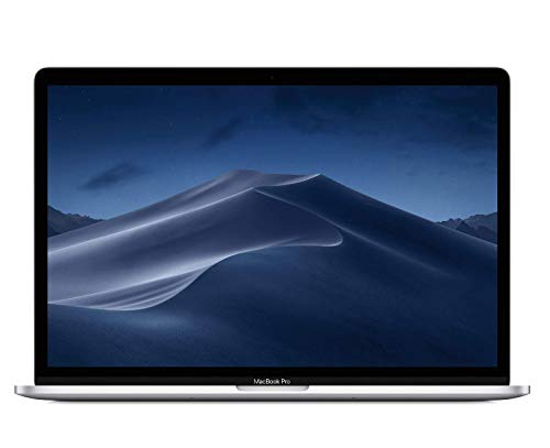 "Apple MacBook Pro (15"" Retina, Touch Bar, 2.6GHz 6-Core Intel Core i7, 16GB RAM, 512GB SSD) - Silver (Latest Model)"