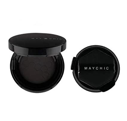 Amazon.com: Maychic - Cojín de pelo con polvo prensado para ...