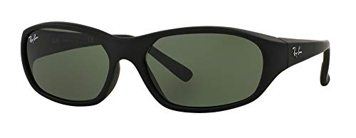 Ray-Ban RB2016 DADDY-O W2578 59M Matte Black/Green Sunglasses For Men For Women