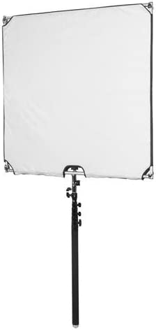 35.4 x 35.4 Glow Reflector Panel and Sun Scrim Kit with Boom Handle and Carry Bag