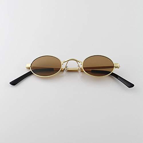 Onda Gafas Mujer Planas Gafas Blanco Hombre Estrecha De De Sol FKSW De De Sol Plateado tea framed Plateado Reflector Gafas Ultra De Sol Golden Calle qRPZf