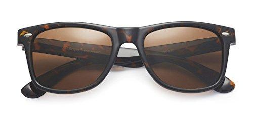 b6b9ef5c31cdc Polarspex Polarized 80 s Retro Classic Trendy Stylish Sunglasses for Men  Women by PolarSpex (Image