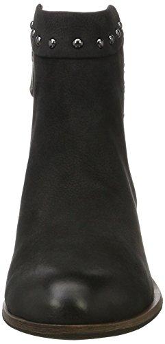 Marco Tozzi Premio 25300, las Botas de Vaquero para Mujer Negro (Black Antic)
