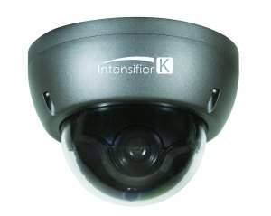 (Speco HTINT59K Camera, Dome, Auto Iris Varifocal, 12VDC, Dark Gray)