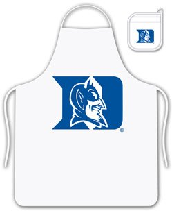 NCAA Duke Blue Devils Tail Gate Kit Apron & Mitt Duke Blue Devils Apron